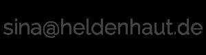 Emailadresse Sina at heldenhaut.de